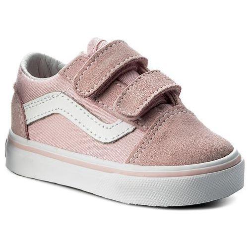 ab92a457b2e89 Vans Tenisówki VANS - Old Skool V VN0A344KQ7K (Suede/Canvas) Chalk Pink