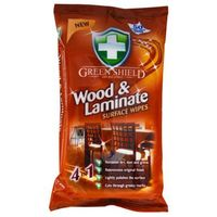50szt wood&laminate chusteczki do drewna i laminatu marki Green shield