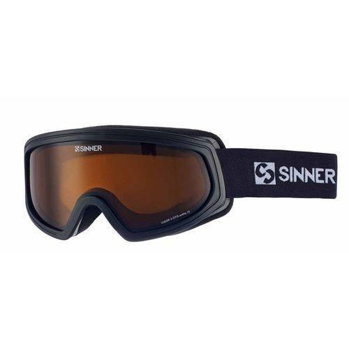Sinner Gogle narciarskie visor ii otg sigo-121 polarized 10a-p01