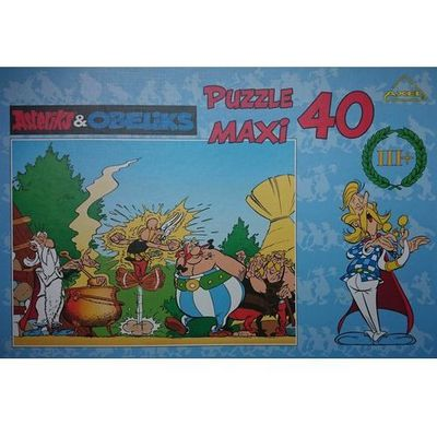 Puzzle AXEL InBook.pl