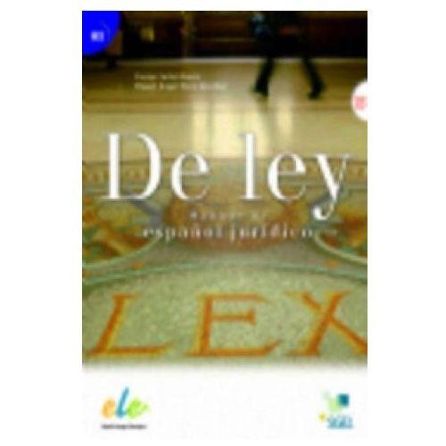 De Ley Manual De Espanol Juridico, oprawa miękka
