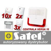Satel Alarm  versa 15 lcd, 10xaqua+/2xnavy/3xgrey, sd-6000, gprs-t2