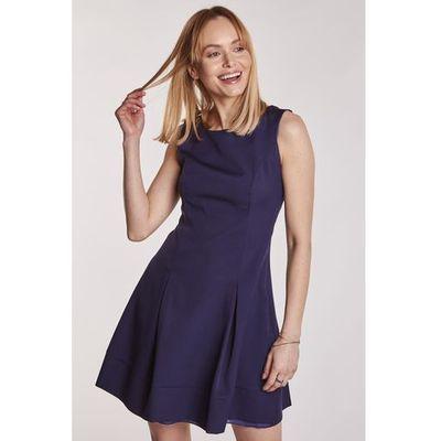 3ab826ea57 suknie sukienki asos granatowa sukienka z koronka kolekcja wiosna ...