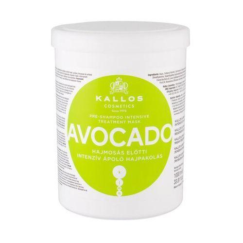 Kallos Cosmetics Avocado maska do włosów 1000 ml dla kobiet (5998889516420)