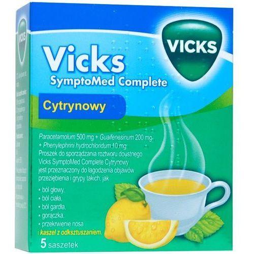 VICKS SYMPTOMED COMPLETE SASZETKI O SMAKU CYTRYNOWYM (5909990799749)