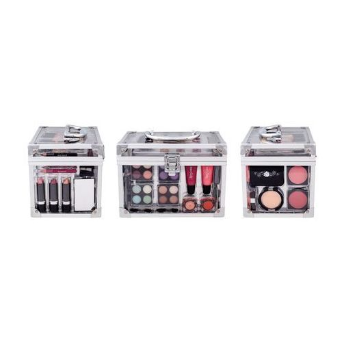 Makeup Trading Schmink Set Transparent W Kosmetyki Zestaw kosmetyków Complet Make Up Palette, SCHMINK605