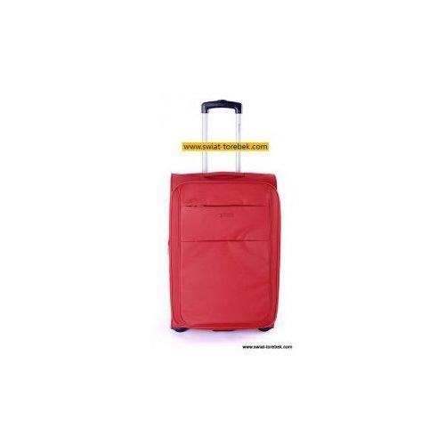 edac59f5cb699 Puccini walizka duża z kolekcji camerino miękka 2 koła materiał polyester  zamek szyfrowy możliwość poszerzenia