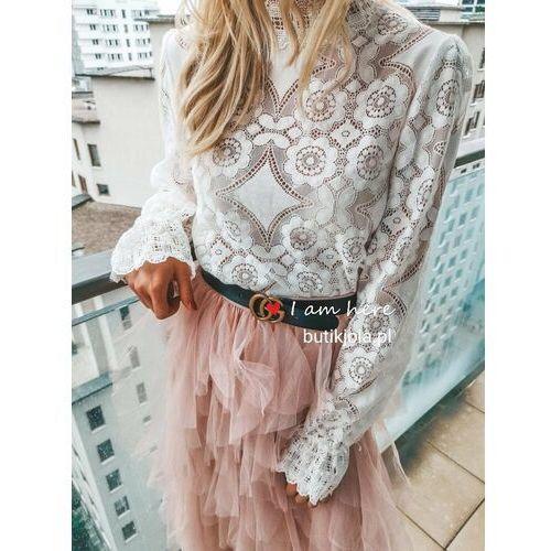 Spódnica Tiulowa - Różowy, kolor różowy