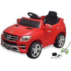 vidaXL Samochód elektryczny dla dzieci Czerwony Mercedes Benz ML350 + pilot