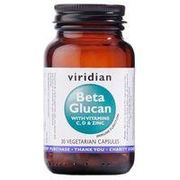 Beta Glukan z wit. C, D i Cynk (30 kaps.) Viridian (5060003593768)
