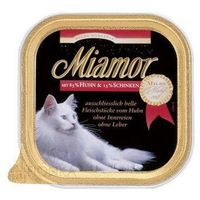MIAMOR Milde Mahlzeit konserwa mięsna dla kota 100g szalka