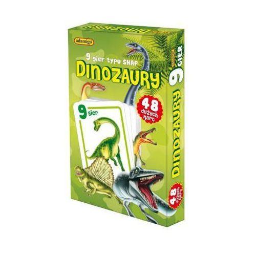 Adamigo Gra karty snap - dinozaury + prezent do zakupów za min.30 zł.