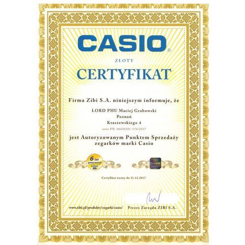 Casio LTP-1280SG-9AEF