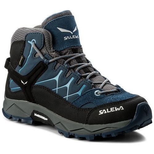 Trekkingi - alp trainer mid gtx gore-tex 64006-0365 dark denim/charcoal marki Salewa