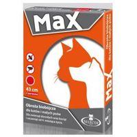 Selecta MAX obroża biobójcza dla kotów i małych psów, 43cm CZERWONA