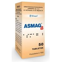 Tabletki ASMAG B x 50 tabletek