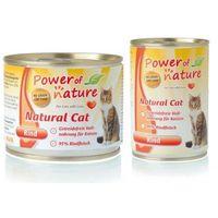 Power of Nature Natural Cat z wołowiną, Waga: 400g -- Ekspresowa Wysyłka --, PON_055