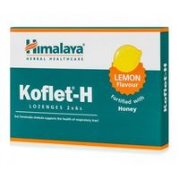 Tabletki Himalaya Koflet-H pastylki na kaszel smak cytrynowy 12 tabletek