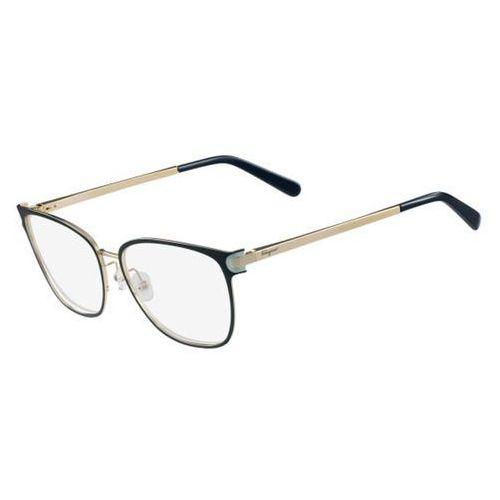Salvatore ferragamo Okulary korekcyjne sf 2150 428