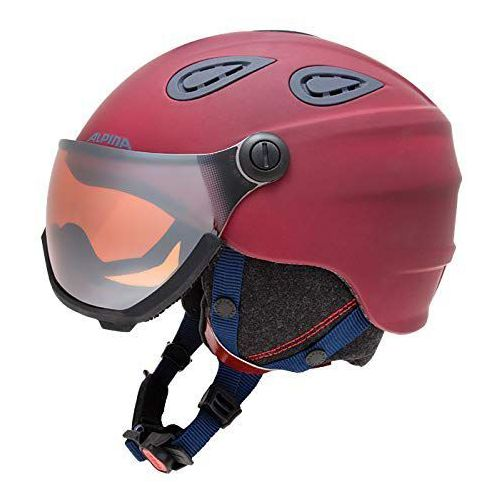 Alpina grap visier hm - kask narciarski z szybą wizjer r. 54-57 cm