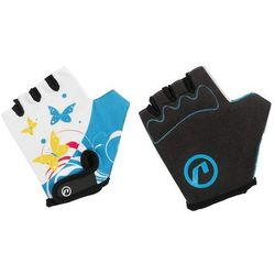 Rękawiczki dziecięce Accent Daisy biało-niebieskie XS