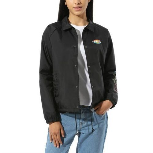 Kurtka - thanks coach dome jacket black (blk) rozmiar: s marki Vans