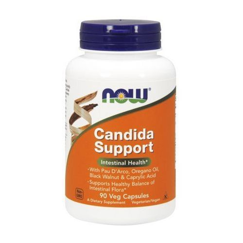Kapsułki Now Foods Candida Support (Candida Clear) 90 kaps