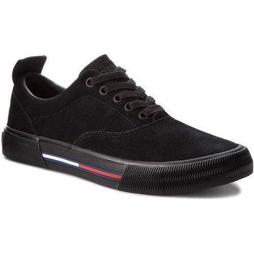 7b29d7dc66372 Tenisówki - oxford city sneaker em0em00149 black 990 marki Tommy jeans -  Fotografia