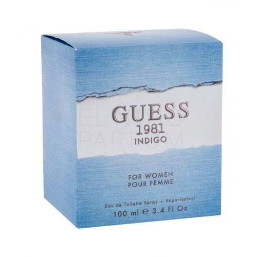 2c9e786bfd59c 1981 Indigo For Women Woman 100ml EdT (Guess) opinie + recenzje ...