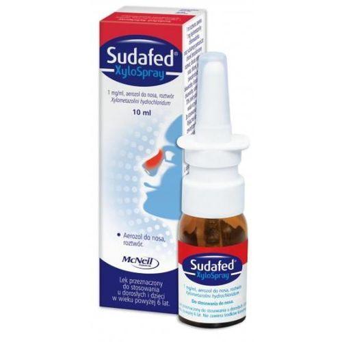 Aerozol Sudafed XyloSpray 1mg/ml, aerozol, 10 ml