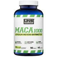 Tabletki Suplementy prozdrowotne UNS MACA 1000 (PIPERZYCA PERUWIAŃSKA) 90 tabl. Najlepszy produkt