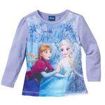 Shirt z długim rękawem frozen jasnoniebieski frozen marki Bonprix