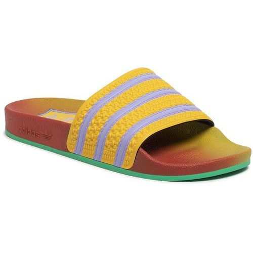 Klapki adidas - adilette FV2719 Supcol/Supcol/Supcol, kolor żółty