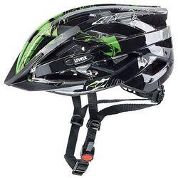 Uvex Kask rowerowy i-vo c czarny/zielony (52-57 cm)
