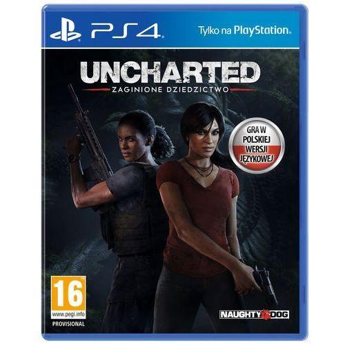 Sony Gra ps4 uncharted: zaginione dziedzictwo