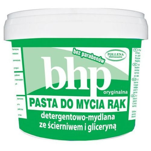 Bhp pasta do mycia rąk detergentowa-mydlana ze ścierniwem i gliceryną 500ml Pollena - Bardzo popularne