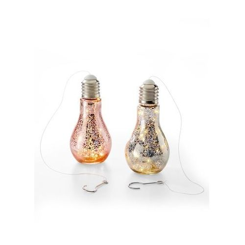 Dekoracyjne Lampki żarówki Led Dina 2 Części Srebrno Miedziany Bonprix
