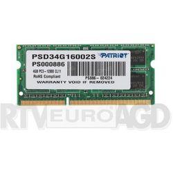 Pamięci RAM do laptopów  Patriot
