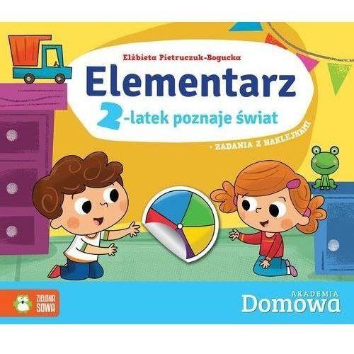 Elementarz 2-latek poznaje świat - Elżbieta Pietruczuk-Bogucka (9788380738652)