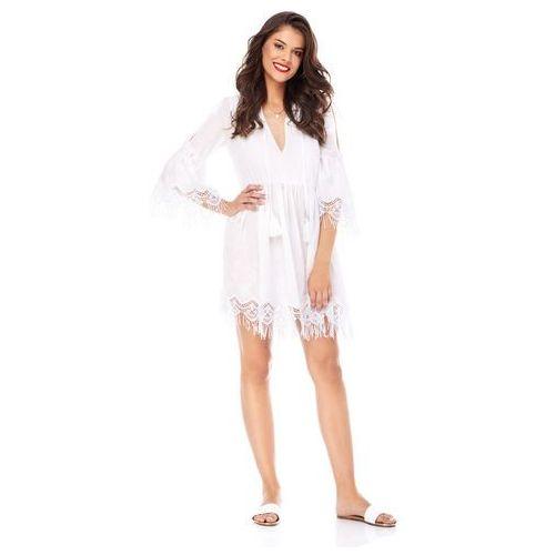 Sugarfree Sukienka maya-bay w kolorze białym
