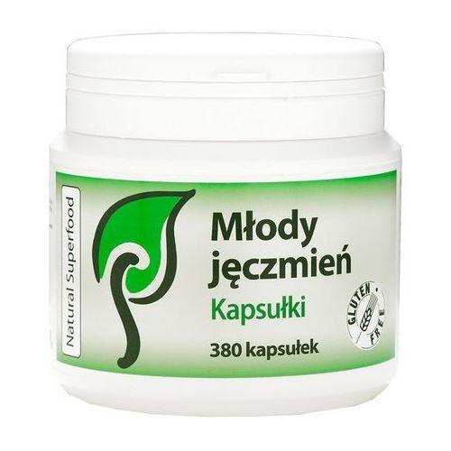 Młody Jęczmień Naturalny 380 kaps