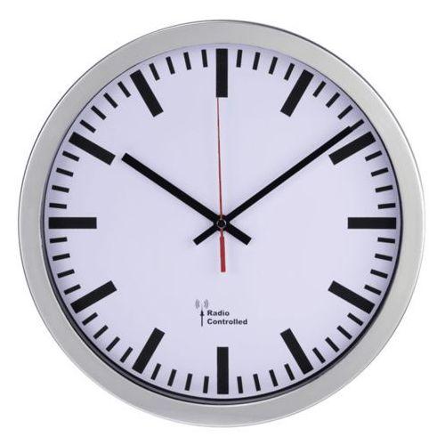 Station Zegar ścienny Sterowany Sygnałem Radiowym Hama