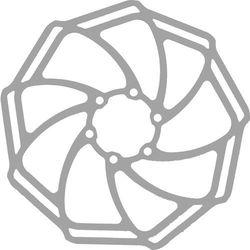 BrakeForceOne SL Tarcza hamulców tarczowych tylne koło srebrny 160 mm 2017 Tarcze hamulcowe