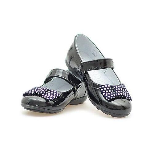 40b28475f3ee57 Zobacz w sklepie Baleriny dziecięce RenBut 23-3223 Czarne, kolor czarny