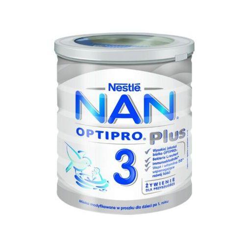 NESTLE NAN OPTIPRO Plus 3 800g Mleko następne Reuteri w proszku dla dzieci powyżej 1 roku puszka