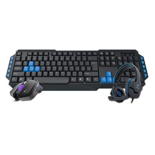 Zestaw gamingowy 3 w 1 poseidon e1 combo (klawiatura, mysz i słuchawki) marki Gamdias