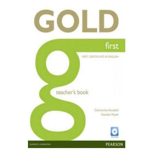 Gold First Książka Nauczyciela, oprawa twarda