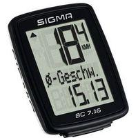 Licznik rowerowy Sigma 7.16 PL Menu