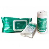 Medilab Mediwipes DM chusteczki bezalkoholowe do dezynfekcji 100szt. tuba, 2CF1-33442