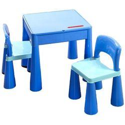zestaw tega mamut: stołek + 2 krzesełka, niebieski marki Cosing